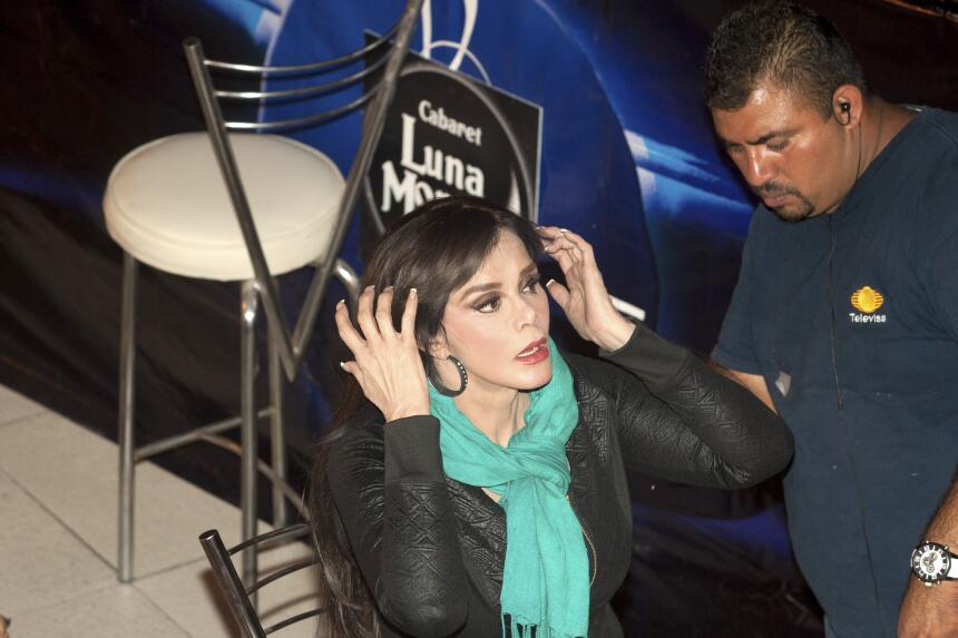¿Ariadne Díaz, celosa de Lucía Mendez?