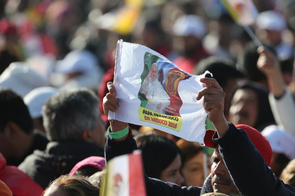 El papa Francisco el domingo