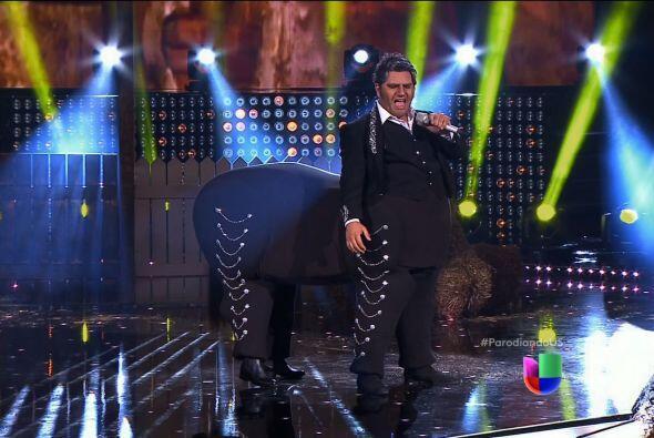 El enfrentamiento entre Alejandro Fernández y Clavillazo estuvo muy reñi...