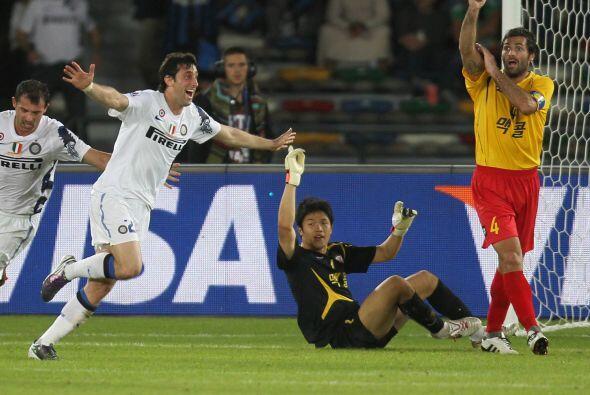 El atacante argentino se reencontró con el gol tras recuperarse d...