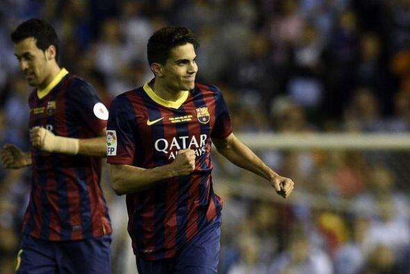 Bartra, uno de los pocos que se salvó del Barcelona se llevó su premio.