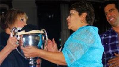 Josefina Mendoza de Guanajuato fue la ganadora del Tercer Festival del T...
