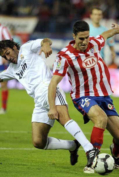 Atlético y Real disputaron un emocionante 'Derby' madrileño.