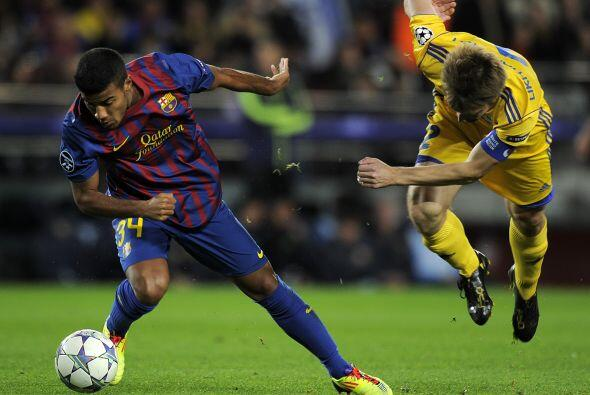 Barcelo terminó la fase de grupos con una goleada 4 a 0.