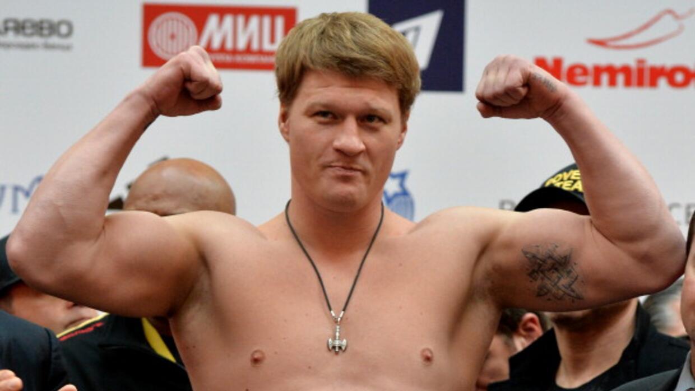 Alexander Povetkin irá ahora contra Deontay Wilder.