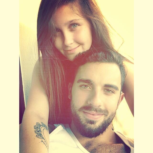 pablo minor y Natasha Dupeyrón