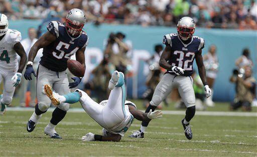 Los Dolphins no se minimizaron ante el buen arranque de los Patriots y r...