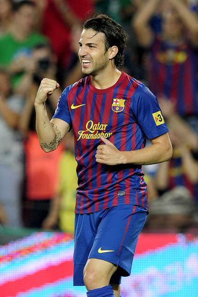 Los de Guardiola jugaban seguros y apareció Cesc Fábregas para anotar el...