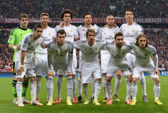 (Con información de EFE) Así jugaron el Real Madrid y Bayern Múnich en e...