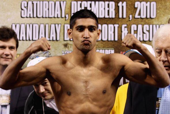 Amir Khan quiere demostrar que no es un espejismo en el boxeo, con una v...