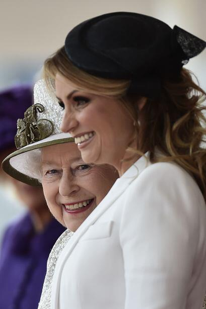 Mira fotos de la visita de Angélica Rivera y Peña Nieto a Inglaterra.
