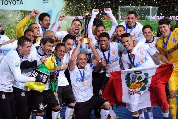 Brasil es el único país no europeo que ha conquistado el Mundial de Club...