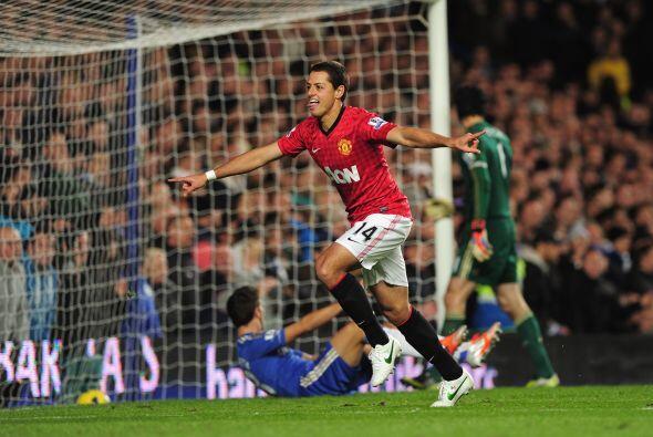 Javier Hernández, con sólo 10 minutos en el campo, apareció para poner e...