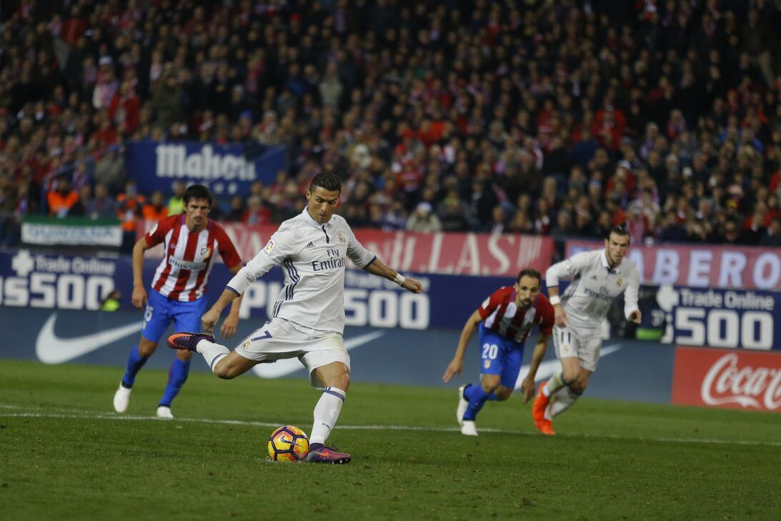 Cristiano, por otra tarde brillante en su despedida del Vicente Calderón...