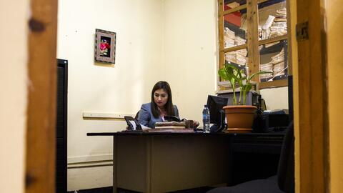 Karen Cárdenas Reyes is the only public defender in the city of Nebaj, G...