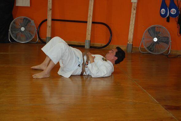 Jorge siempre ha sido un apasionado de las artes marciales.