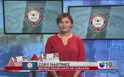 Cory Martínez compartió su testimonio como receptora de trasplante de co...
