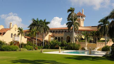 Mar-A-Lago, Florida, President trump's private club relies heavily on H-...