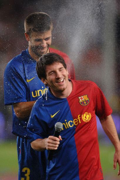 Lio Messi llega a 27 años. Nació en Rosario, Argentina el 24 de junio de...