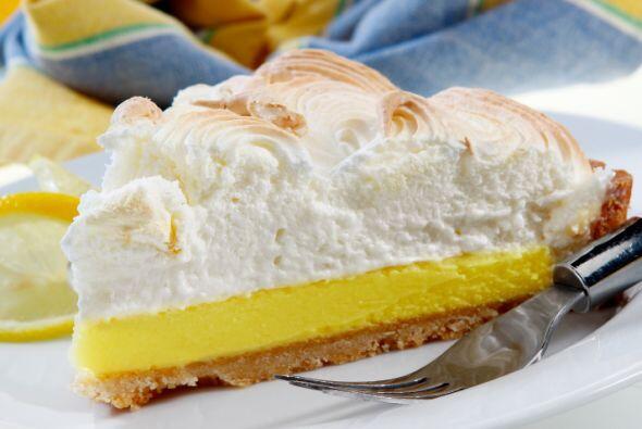 Pay helado de limón Esta es la versión fácil de la receta. Mezcla una l...