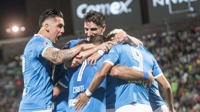 Cruz Azul vive la gloria con su clasificación contra Santos en la Copa MX