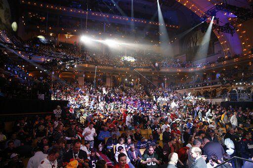 La Auditorio de Chicago lució así (AP-NFL).