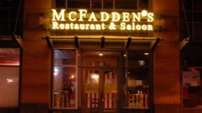 Imagen tomada de Twitter del restaurante McFadden's.