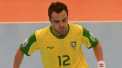 Falcao es astro de Brasil y campeón mundial de Fútbol Sala