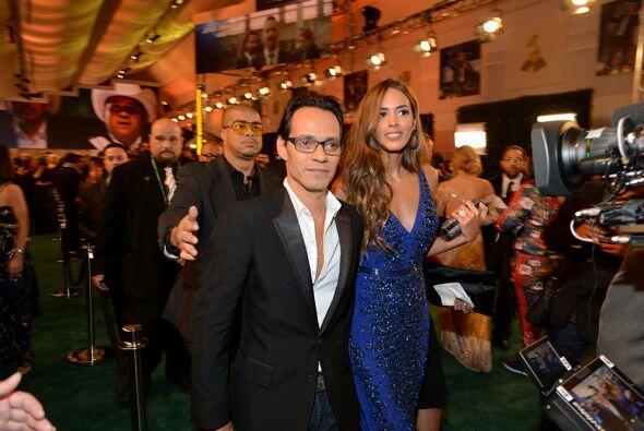 Marc Anthony y Shannon de Lima, una pareja con gran estilo.