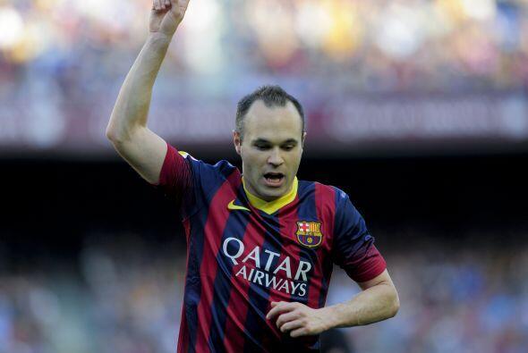 Andrés Iniesta fue quien dejó en claro que el Barcelona requiere de un j...