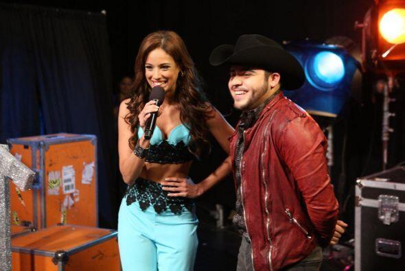 El cantante dijo que para él, ella era la favorita para ganar la corona....