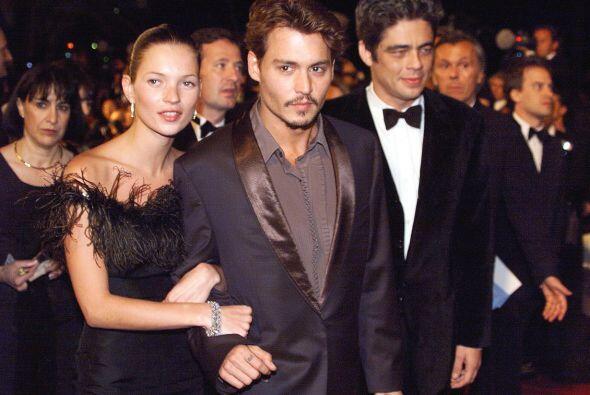 Después el actor nos sorprendió apareciendo del brazo de l...
