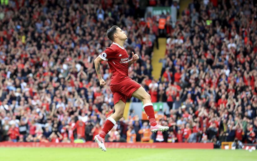 El gran rendimiento de Philippe Coutinho con el Liverpool lo estaría emp...