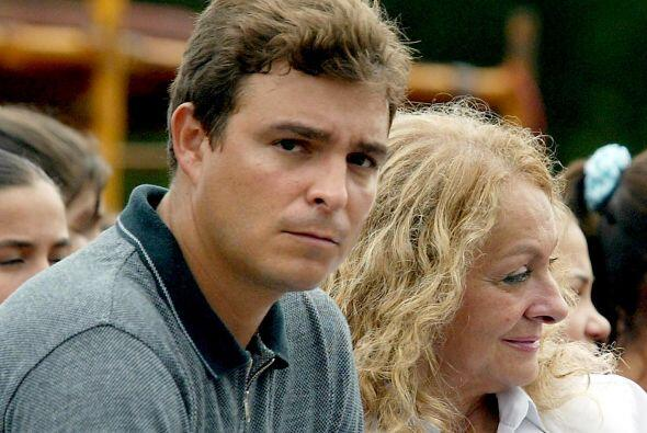 Antonio Castro Soto del Valle y su madre, Dalia Soto del Valle, particip...