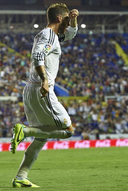 Sergio Ramos empató el partido. El defensa fue de los que más motivación...