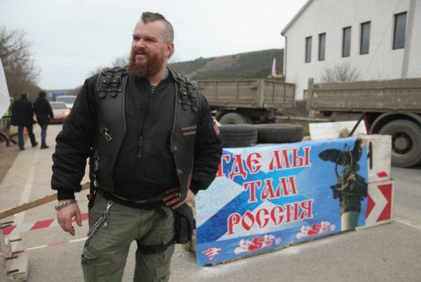 No es de extrañar que dentro de Crimea haya grupos que apoyan la llegada...
