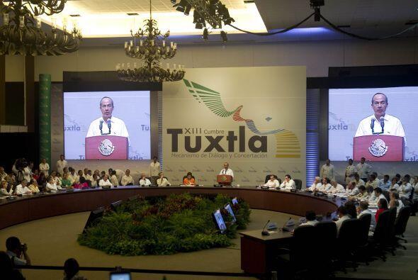 Al inaugurar formalmente la Cumbre del Mecanismo de Tuxtla, el president...