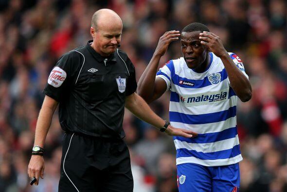 """El que no estaba muy feliz era Nedum Onuoha que le dijo al árbitro: """"¿en..."""