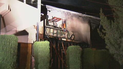 Un empleado de plomería desató una estruendosa explosión de gas en Woodl...