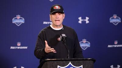 Jim Harbaugh no tiene la más mínima intención de dejar a 49ers antes de...