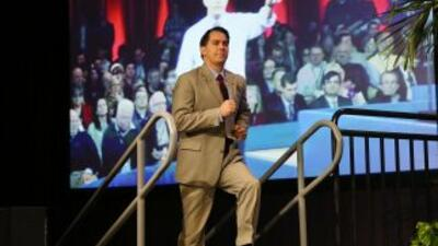 El gobernador de Wisconsin Scott Walker y posible candidato republicano.