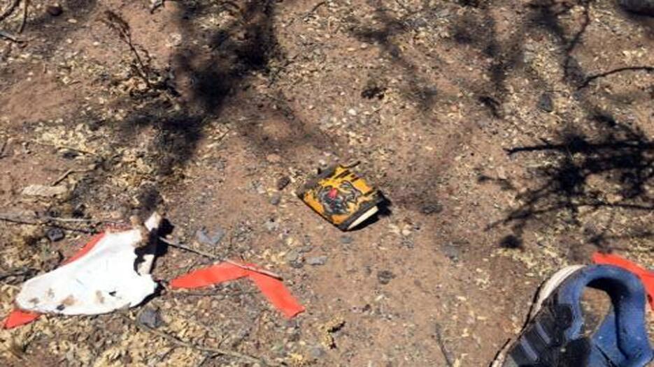 Encuentran restos de un inmigrante en la frontera de Arizona Restos 3.jpg