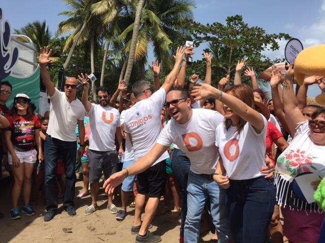 Univision Puerto Rico llevó la fiesta a Punta Santiago y Tropical Beach.