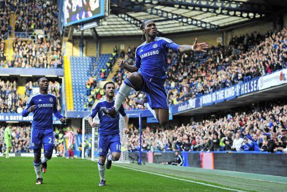 El marfileño sumó su gol número 100 y le regaló felicidad a los hinchas...