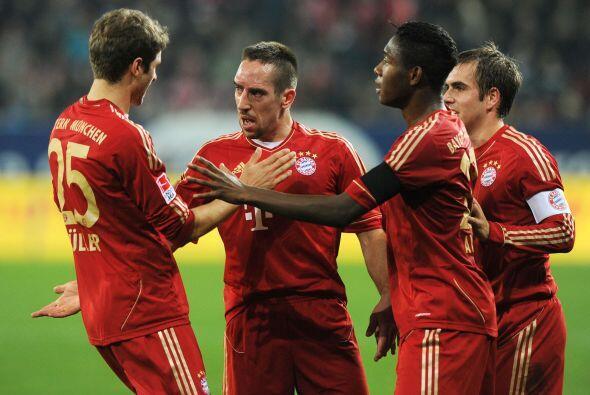 Sin embargo, no contaban con el talento del galo Franck Ribery.