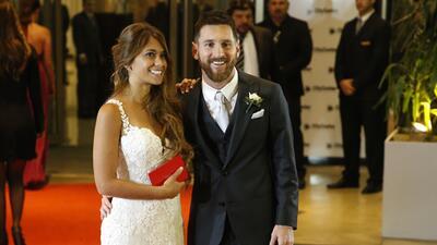 Messi y Antonela Roccuzzo se casan: mira las fotos de la alfombra roja de su boda