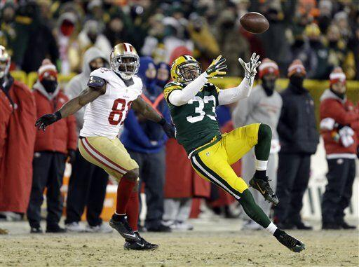Tramon Williams tuvo una intercepción que, en su momento, devolvió la vi...