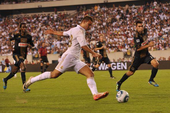 El Real Madrid mantuvo su carácter de invictor en el torneo amistoso Wor...