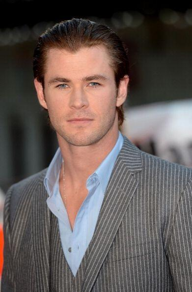 "Chris Hemsworth al guapo actor australiano y protagonista de la cinta ""T..."