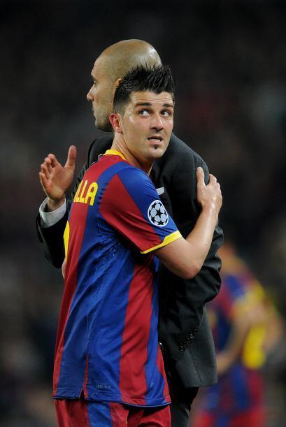 Guardiola felicitó a sus jugadores por tan gran exhibición.